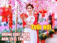 Hướng và giờ xuất hành tốt nhất cho người tuổi Hợi dịp Tết Tân Sửu 2021