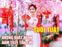 Hướng và giờ xuất hành tốt nhất cho người tuổi Tuất dịp Tết Tân Sửu 2021