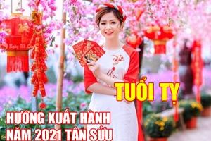 Hướng và giờ xuất hành tốt nhất cho người tuổi Tý dịp Tết Tân Sửu 2021