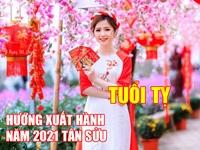 Hướng và giờ xuất hành tốt nhất cho người tuổi Tỵ dịp Tết Tân Sửu 2021