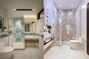 Phong thuỷ TỤ TÀI rất hay cho phòng tắm