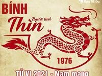 Xem tử vi 2021 tuổi Bính Thìn sinh năm 1976 - Nam mạng
