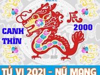 Xem tử vi 2021 tuổi Canh Thìn sinh năm 2000 - Nữ mạng