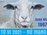 Xem tử vi 2021 tuổi Đinh Mùi sinh năm 1967 - Nữ mạng