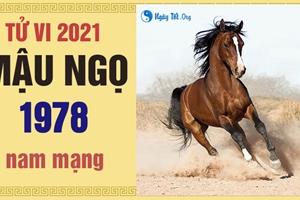 Xem tử vi 2021 tuổi Mậu Ngọ sinh năm 1978 - Nam mạng