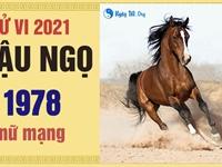 Xem tử vi 2021 tuổi Mậu Ngọ sinh năm 1978 - Nữ mạng