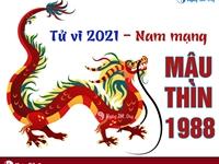 Xem tử vi 2021 tuổi Mậu Thìn sinh năm 1988 - Nam mạng