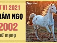 Xem tử vi 2021 tuổi Nhâm Ngọ sinh năm 2002 - Nữ mạng