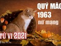 Xem tử vi 2021 tuổi Quý Mão sinh năm 1963 - Nữ mạng
