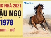 Xem tuổi xông nhà 2021 tốt cho Mậu Ngọ 1978