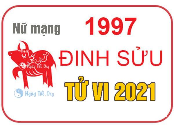 dinh suu 2021 nu, xem tu vi 1997