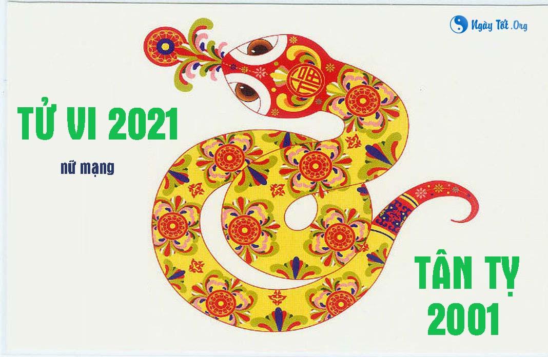nu tan ty 2001 nam 2021, xem tu vi 2021